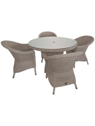 4 Seasons Outdoor Valentine 4 Seater Garden Dining Set