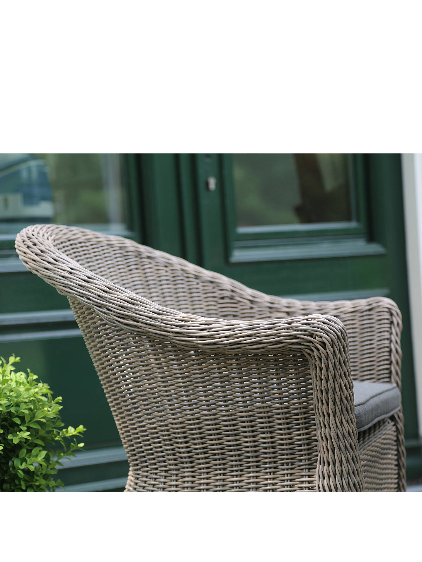 Buy 4 Seasons Outdoor Valentine 4 Seater Garden Dining Set, Pure Online at johnlewis.com