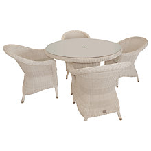 Buy 4 Seasons Outdoor Valentine 4 Seater Garden Dining Set Online at johnlewis.com