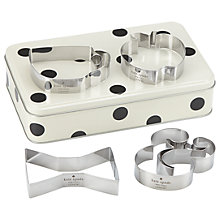 Buy kate spade new york Cookie Cutters in Gift Tin Online at johnlewis.com