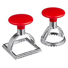 Buy John Lewis Ravioli Cutters, Set of 2 Online at johnlewis.com