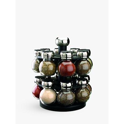 Olde Thompson Rotating Spice Rack, 16 Jar
