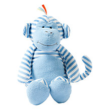 Buy Manhattan Toy Giggle Monkey Soft Toy, Large Online at johnlewis.com