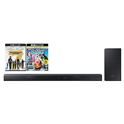 Samsung HW-K850 Dolby Atmos Bluetooth Wi-Fi 3.1.2 Sound Bar System with Wireless Subwoofer & Multiroom Review thumbnail