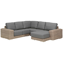 Buy 4 Seasons Outdoor Kingston 5 Seater Modular Garden Lounge Set, Pure Online at johnlewis.com