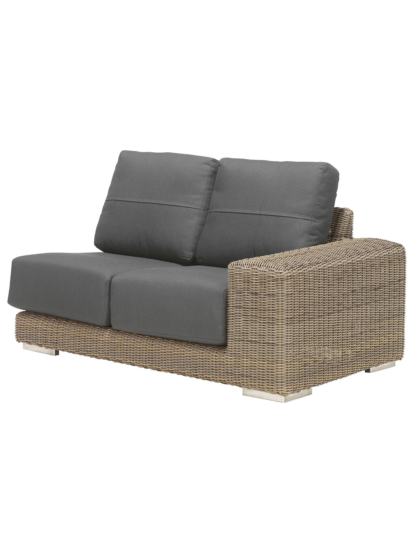 Buy4 Seasons Outdoor Kingston 5 Seater Garden Modular Set, Pure Online at johnlewis.com