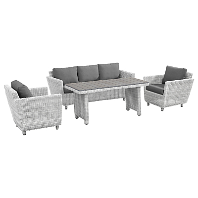 Image of 4 Seasons Outdoor Fortaleza 'Cosy Dining' 5 Seater Garden Furniture Set, Natural