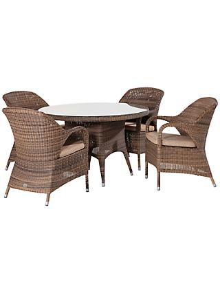 4 Seasons Outdoor Sussex  4 Dining Set
