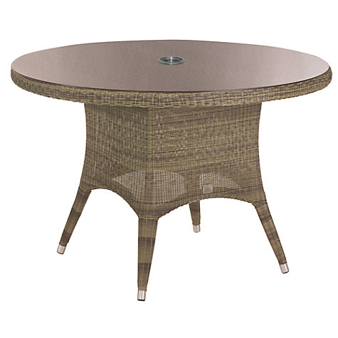 4 Seasons Outdoor Sussex 4 Seater Dining Set, Taupe
