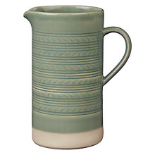 Buy John Lewis Croft Collection Amberley Textured Jug, Natural Online at johnlewis.com