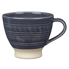 Buy John Lewis Croft Collection Amberley Textured Mug Online at johnlewis.com