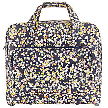 Buy John Lewis Modern Ditsy Print Sewing Machine Bag, Blue Online at johnlewis.com