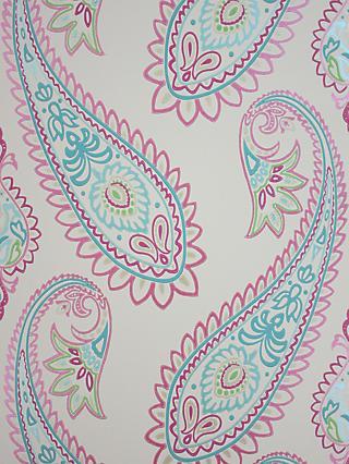 Osborne Little Nizam Wallpaper Fuchsia Pea W6179 01