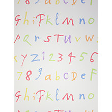 Buy Osborne & Little Quentin ABC Wallpaper, W6062-01 Online at johnlewis.com