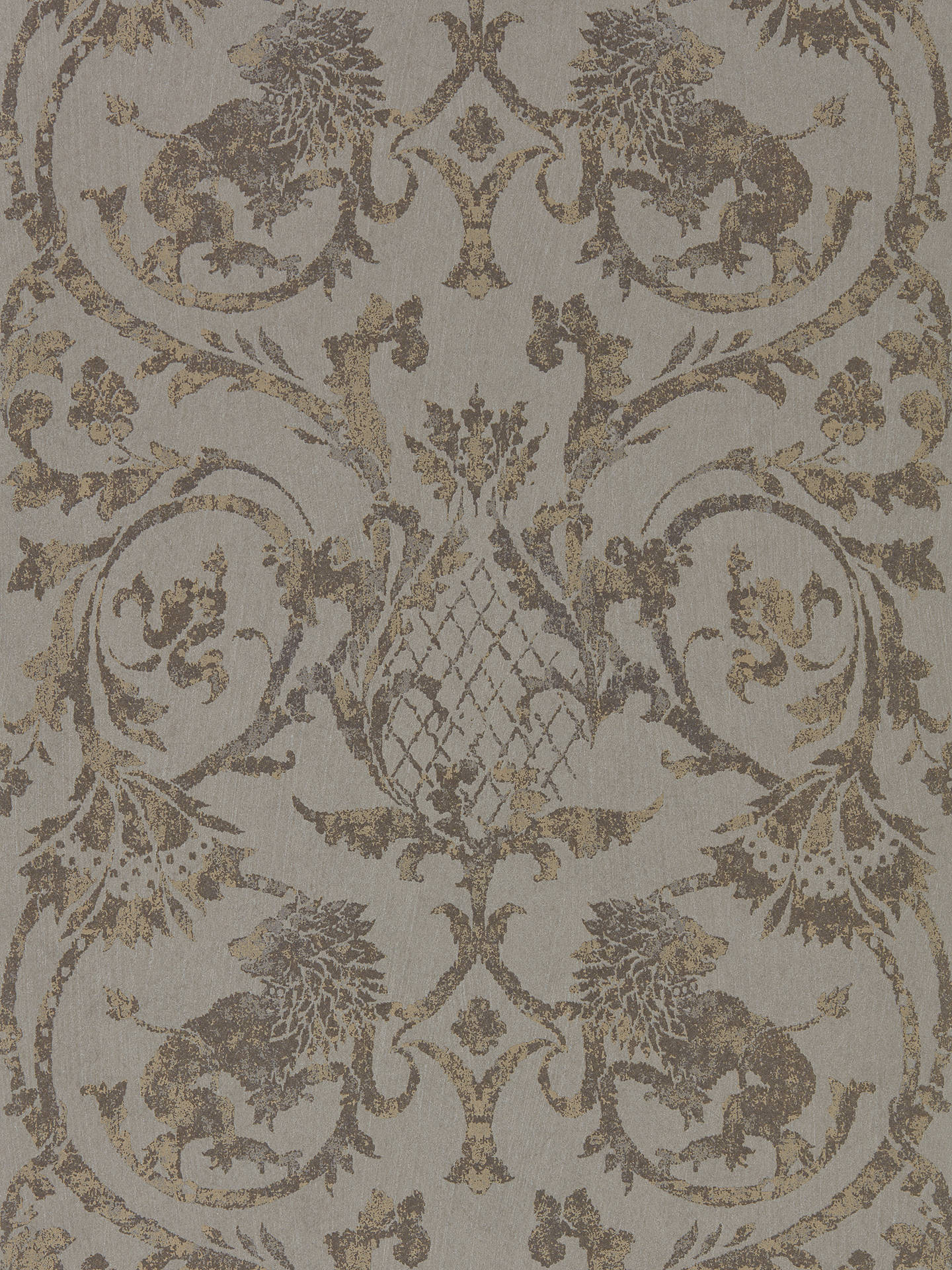 Buy Zoffany Phaedra Landseer wallpaper, Antique Bronze ZPHA312613 Online at johnlewis.com