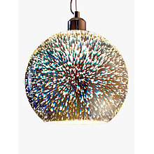 Buy John Lewis Oberon Holographic Pendant Ceiling Light, Multi Online at johnlewis.com