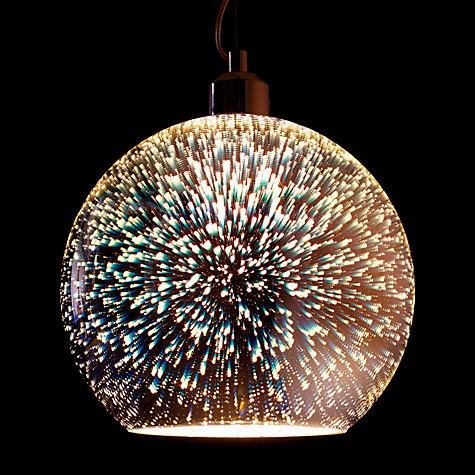 Buy John Lewis Oberon Holographic Pendant Ceiling Light Multi John Lewis