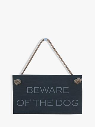 f8f3f1691 The House Nameplate Company Beware of The Dog Slate House Sign