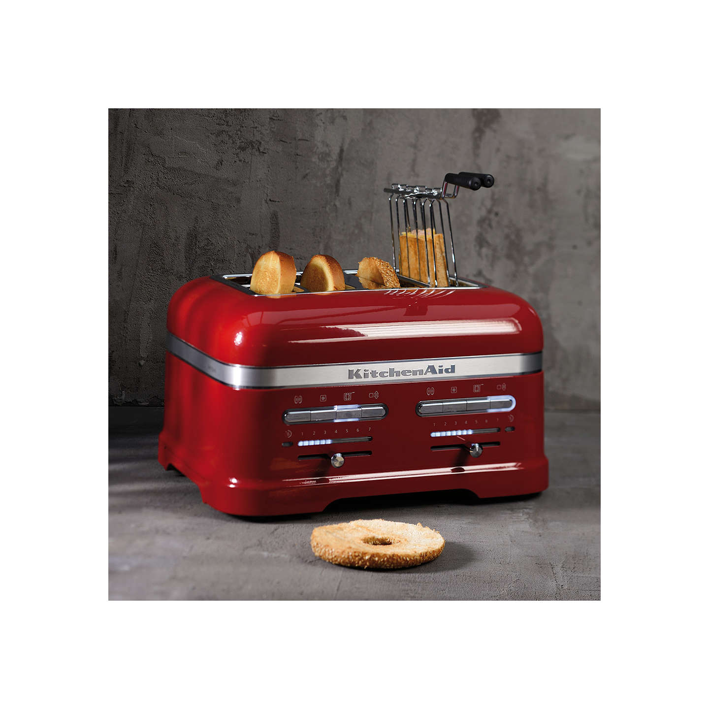 BuyKitchenAid Artisan 4-Slice Toaster, Candy Apple Online at johnlewis.com