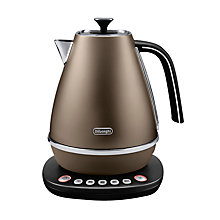Buy De'Longhi Distinta KBI3011.W Digital Jug Kettle, Bronze Online at johnlewis.com