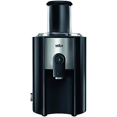 Braun J500 Multiquick 5 Spin Juicer, Black