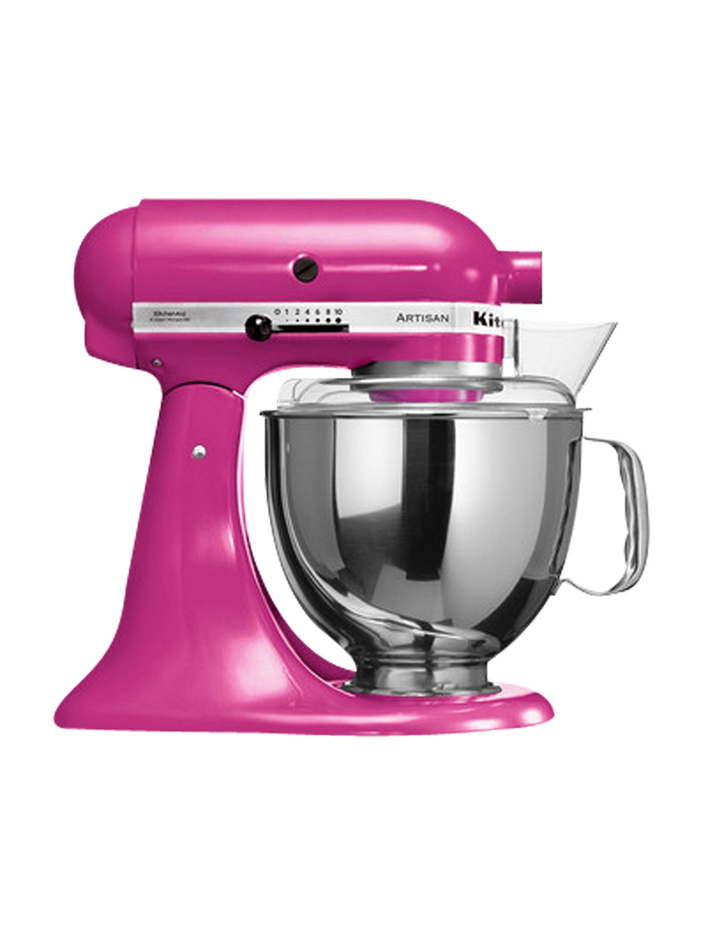 Buy KitchenAid Artisan 4.8L Stand Mixer, Cranberry Online at johnlewis.com