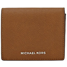 Buy MICHAEL Michael Kors Jet Set Travel Carryall Leather Card Case Online at johnlewis.com