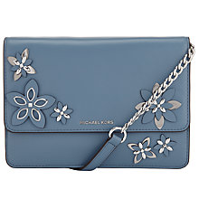 Buy MICHAEL Michael Kors Daniela Large Leather Across Body Purse Online at johnlewis.com
