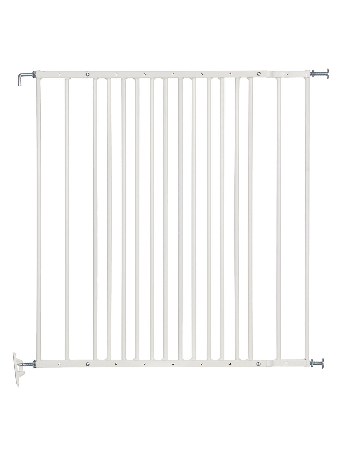 John Lewis Partners Extending Metal Safety Gate At John Lewis