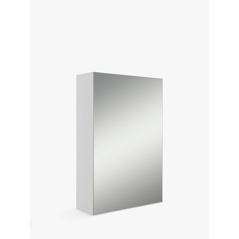 John lewis single white bathroom cabinet at john lewis for Bathroom cabinets john lewis uk