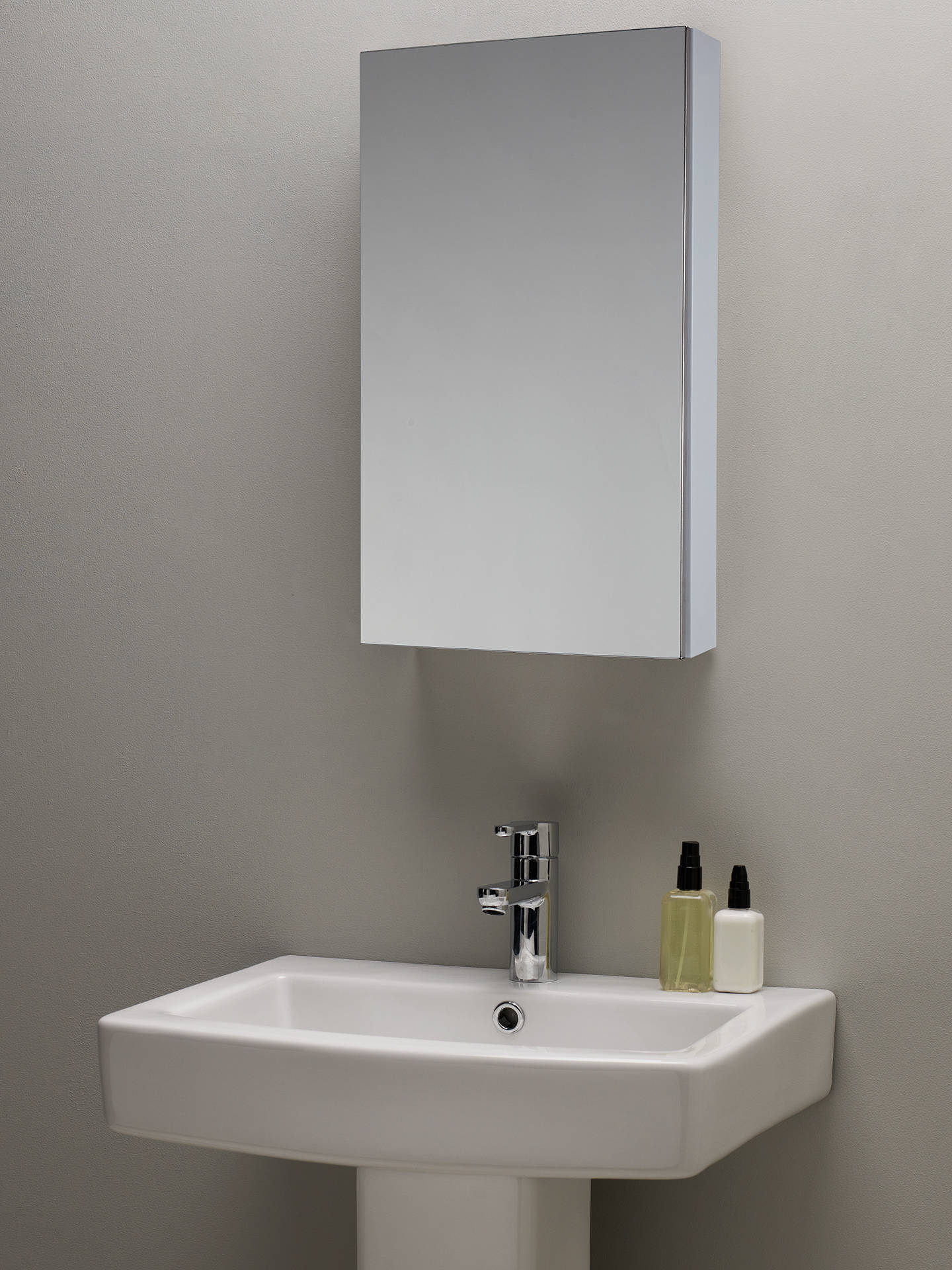 John Lewis Slimline Single Bathroom