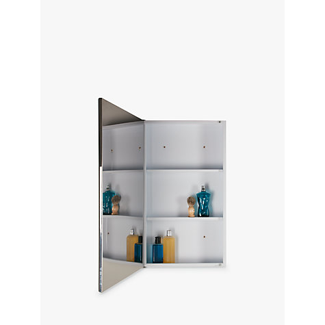 ... Buy John Lewis Single Powder Coated Bathroom Cabinet Online At Johnlewis .com