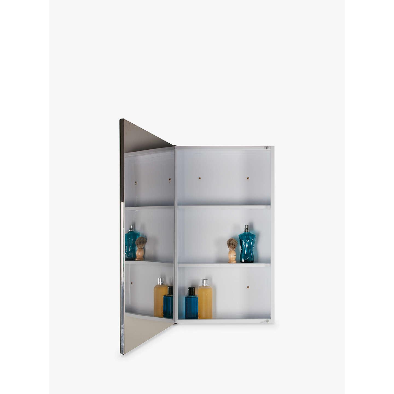 John lewis slimline single bathroom cabinet at john lewis for Bathroom cabinets john lewis