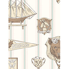 Buy Galerie Jack n Rose Junior Ships Wallpaper Online at johnlewis.com