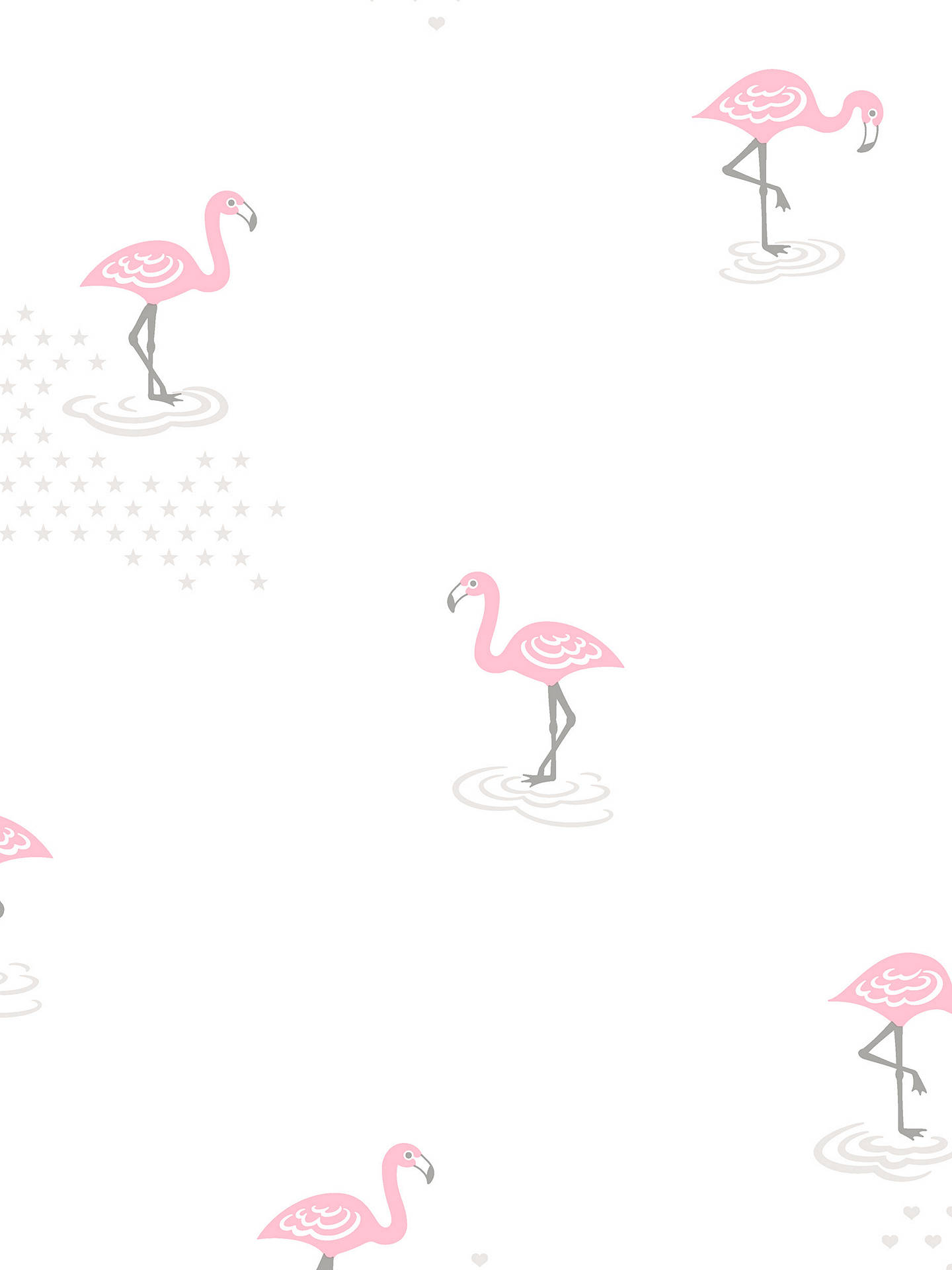 Galerie Jack N Rose Junior Flamingo Wallpaper Jr2005 Online At Johnlewis