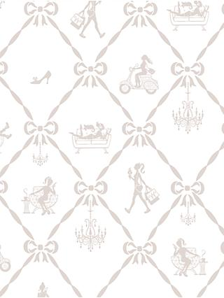 Galerie Jack n Rose Junior Girls and Bows Wallpaper