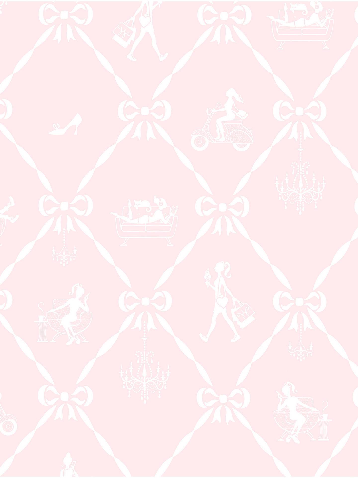Galerie Jack N Rose Junior Girls And Bows Wallpaper Jr3102