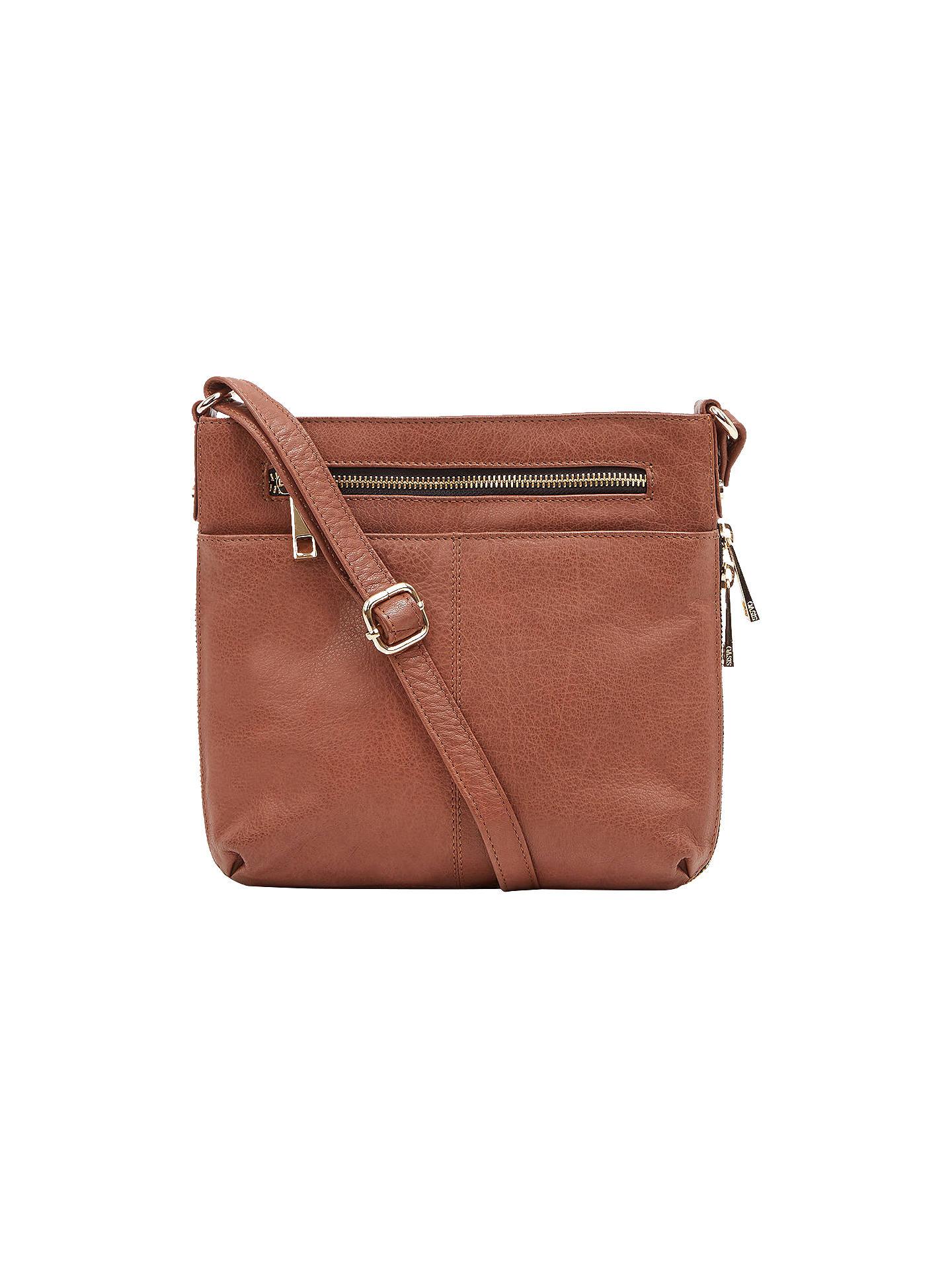 ae035baa33ba Buy Oasis Anais Cross Body Bag, Tan Online at johnlewis.com ...