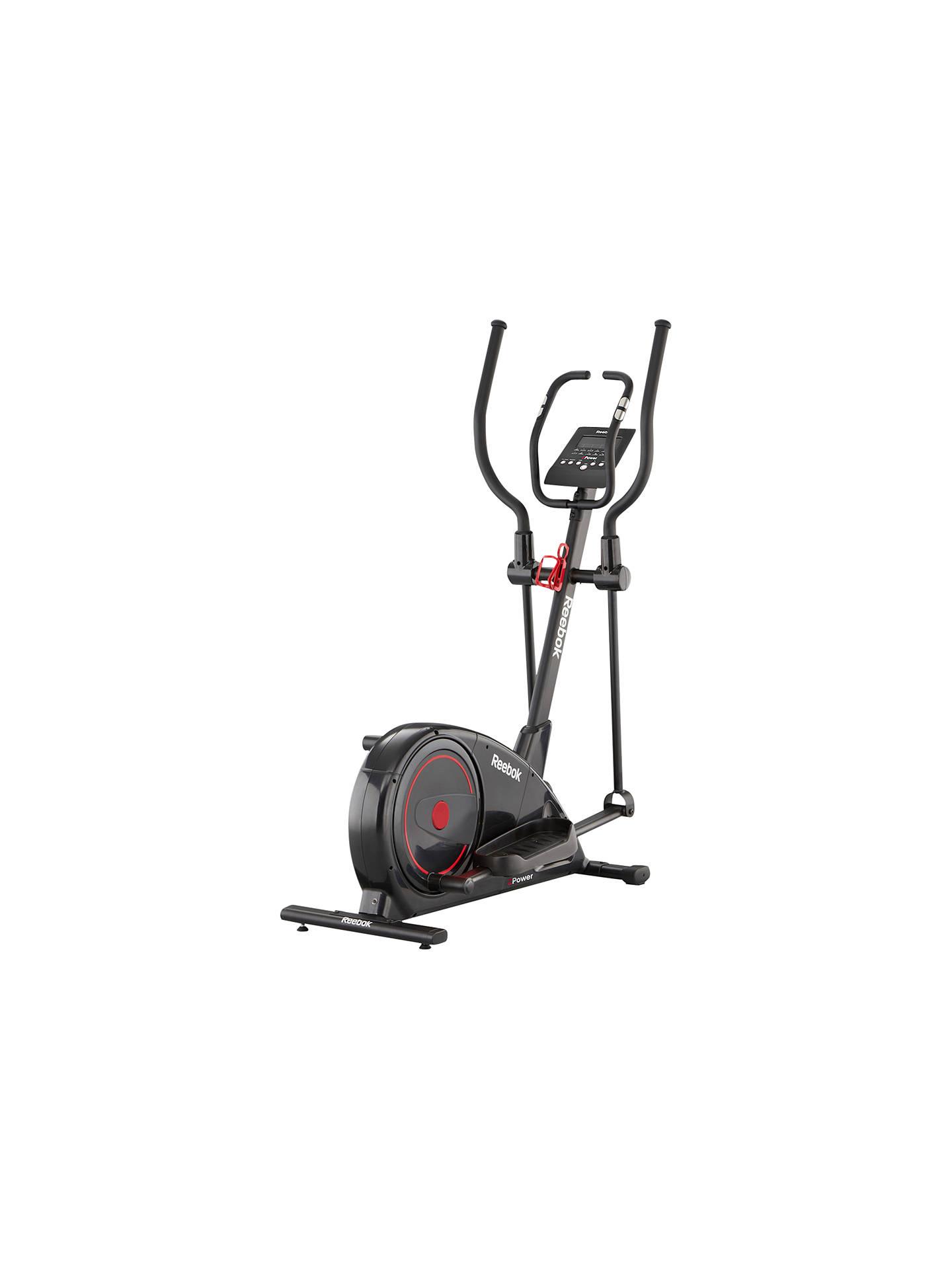 92d9860b1d3c2c Buy Reebok Z-Power Cross Trainer, Black Online at johnlewis.com ...