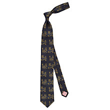 Buy The Lions Collection by Thomas Pink Bennett Silk Tie Online at johnlewis.com