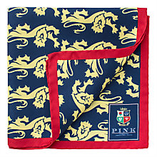 Buy The Lions Collection by Thomas Pink James Pocket Square Online at johnlewis.com