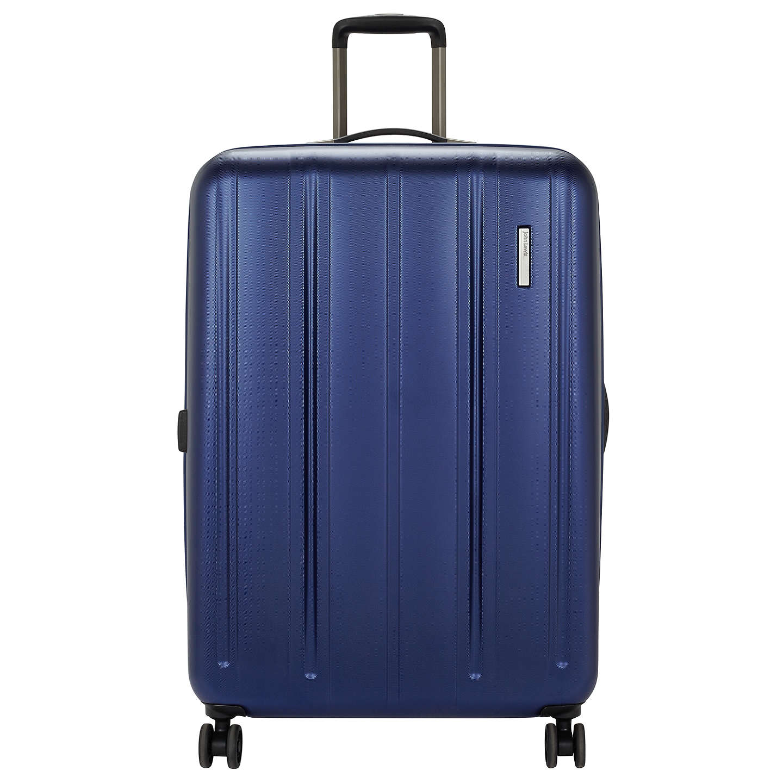 John Lewis Munich 4 Wheel Spinner 80cm Suitcase Blue At