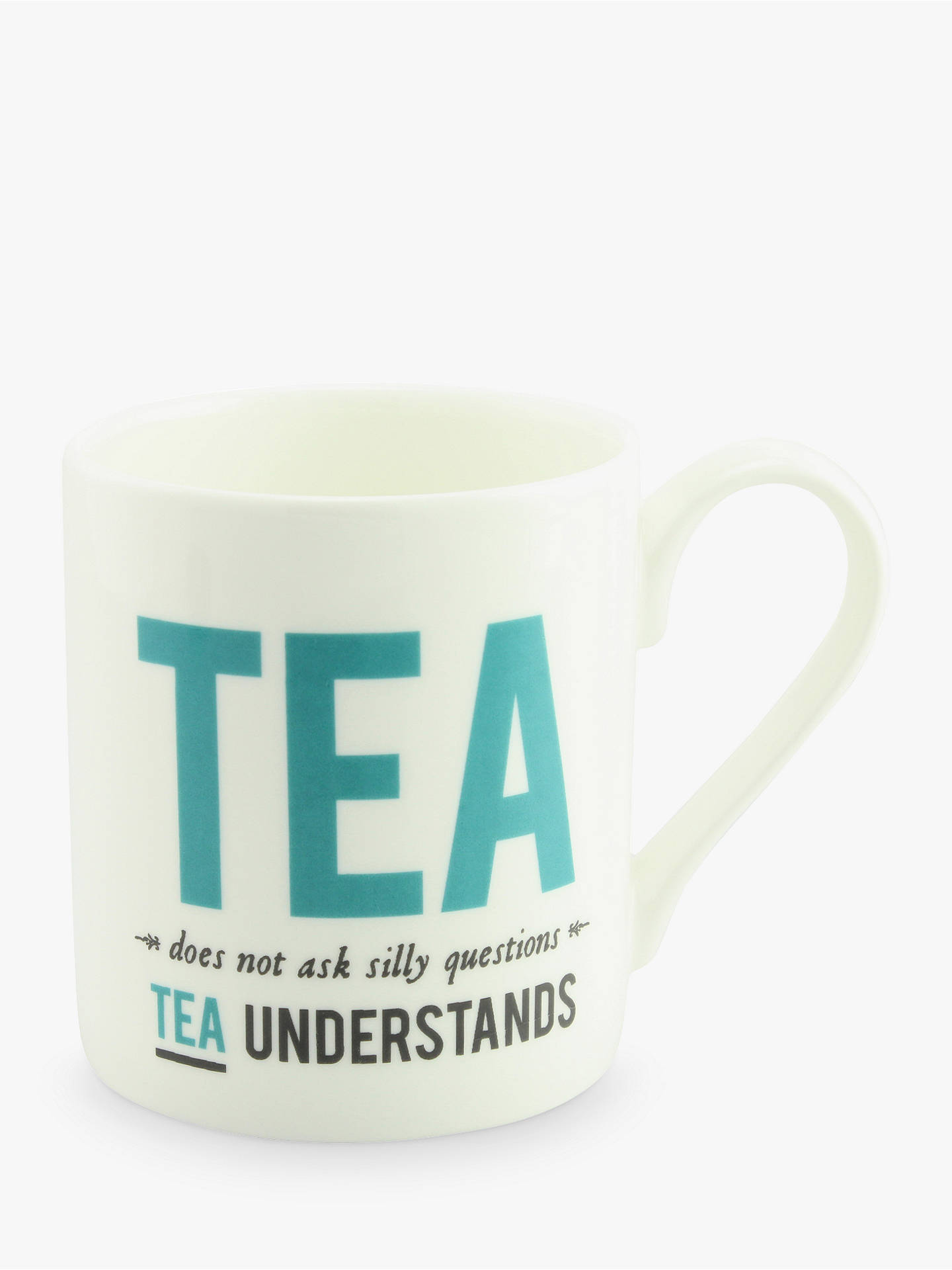 Buy Alice Scott 'Tea Understands' Mug Online at johnlewis.com