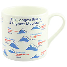Buy McLaggan Smith Educational 'Rivers & Mountains' Mug Online at johnlewis.com