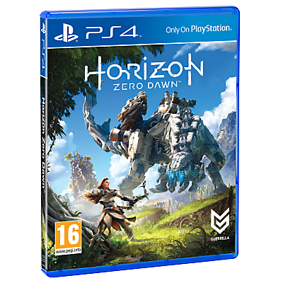 Horizon Zero Dawn, PS4