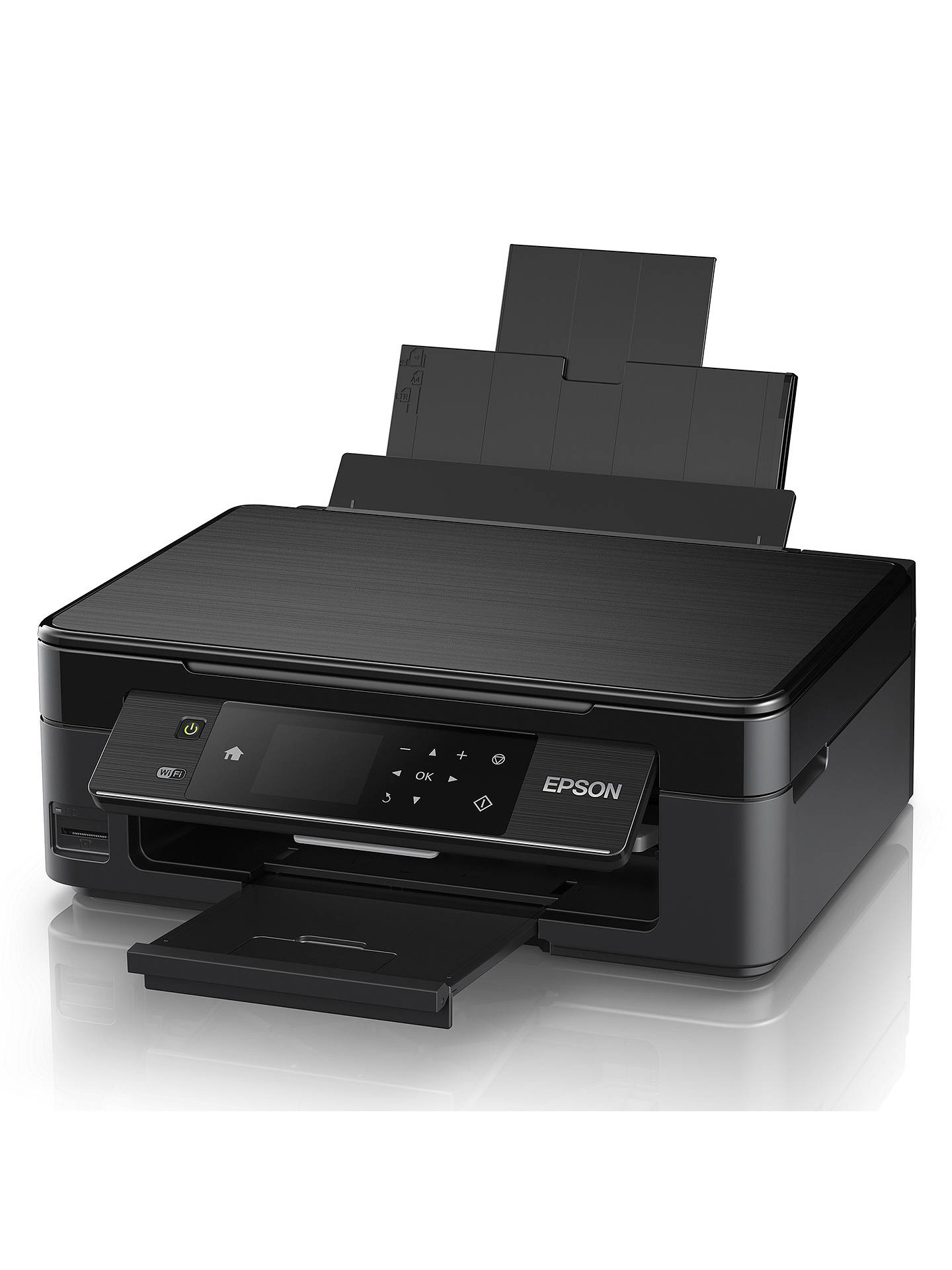 Buy Epson Expression Home XP-442 Wi-Fi All-in-One Printer, Black Online at johnlewis.com