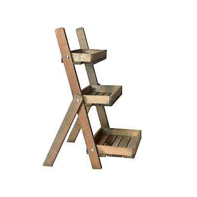 Image of Garden Trading Aldsworth Pot Ladder, FSC-certified Spruce