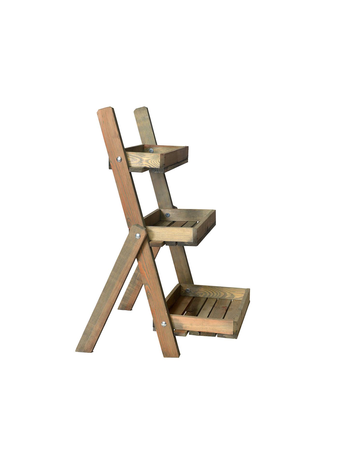 wholesale dealer 9e3e7 2e0ea Garden Trading Aldsworth Pot Ladder, FSC-certified Spruce