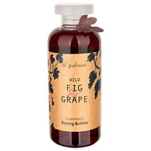 Buy Di Palomo Fig & Grape Luxurious Bathing Bubbles, 300ml Online at johnlewis.com