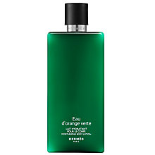 Buy HERMÈS Eau d'Orange Verte Body Lotion, 200ml Online at johnlewis.com